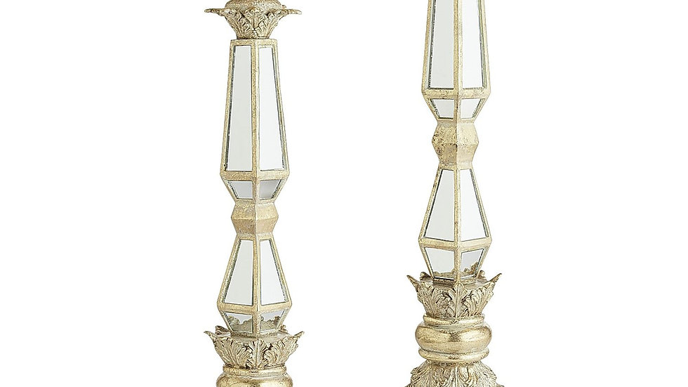 """Gold Mirrored Risers - 17"""" or 20"""""""