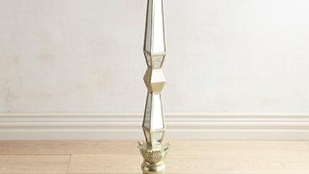 "Gold Mirrored Riser - 34"" high"