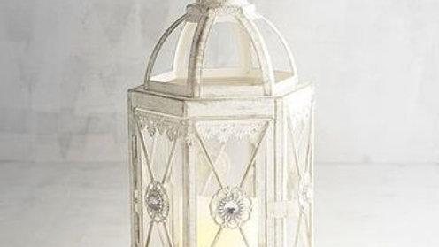 Hexagon Jeweled Lantern - Small