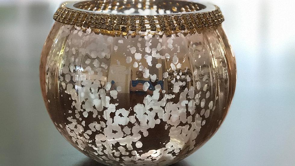 Rose Gold Mercury Bowl