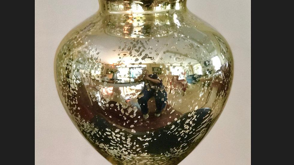 Gold Mercury Urn Vase - Large
