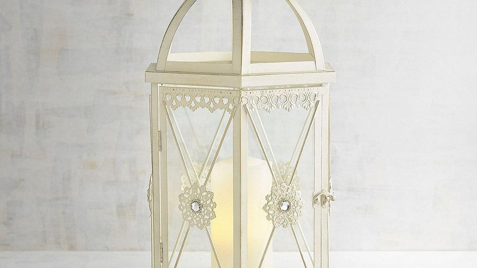 Hexagon Jeweled Lantern - Large