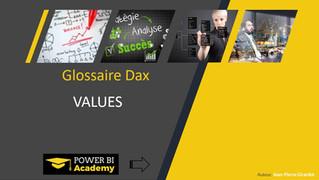 Power BI Academy : Nouveautés Glossaire Langage DAX Décembre 2018