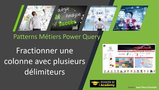 Power Query : Fractionnez une colonne avec plusieurs délimiteurs différents