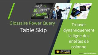 Power BI Academy : Nouveautés Glossaire Power Query Langage M Décembre 2018
