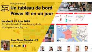 Préconférence Power Saturday : Un tableau de bord en 1 jour