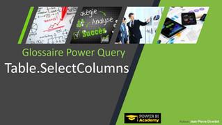Power BI Academy : Nouveautés Glossaire Power Query Langage M Janvier 2019