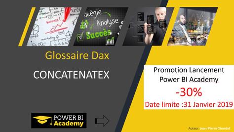 Power BI Academy : Nouveautés Glossaire Langage DAX Janvier 2019