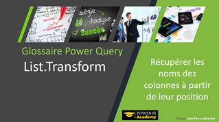 Power Query : Découvrez la fonction List.Transform