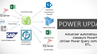Actualisation automatique de modèles Power Pivot avec Power Update
