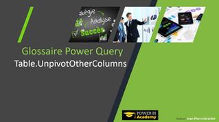 Power BI Academy : Nouveautés Glossaire Power Query Langage M Mars 2019