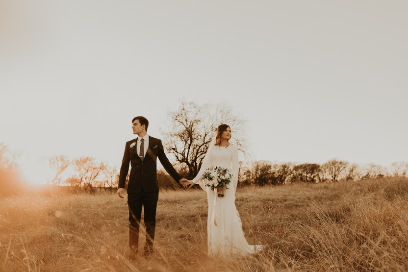 open field elopement