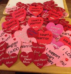 Heart Warrior Pins