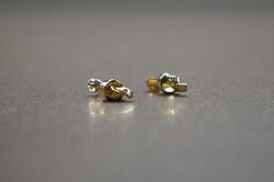 """""""INSIDE TWIST"""" earrings"""