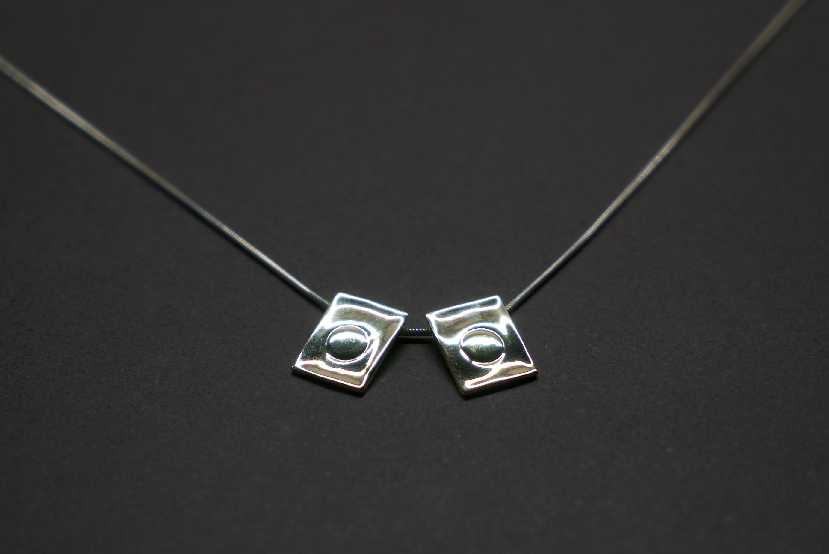 """TWINS"" pendant"