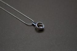 """THE INSIDE TWIST"" pendant"