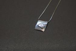 """HALF EARTH"" pendant"