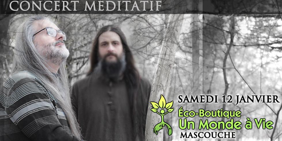 CONCERT MEDITATION SONORE 12 janvier