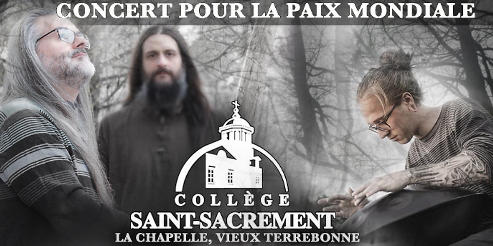 Terrebonne, 30 mars, CONCERT POUR LA PAIX MONDIALE