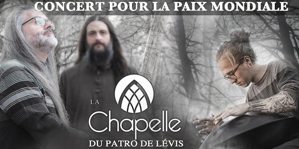 Québec, LEVIS, CONCERT POUR LA PAIX MONDIALE