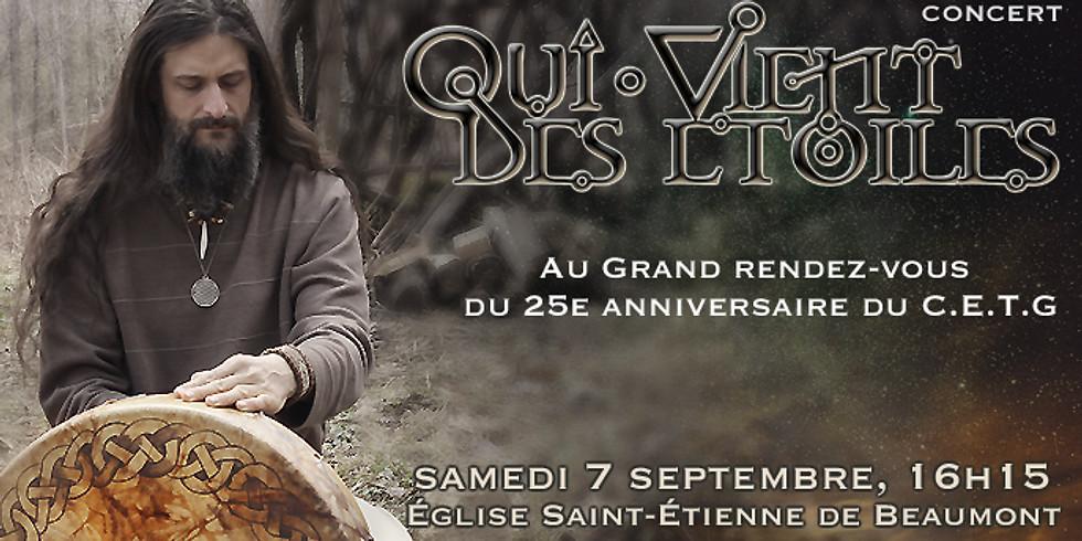 QUI VIENT DES ETOILES, concert, Beaumont
