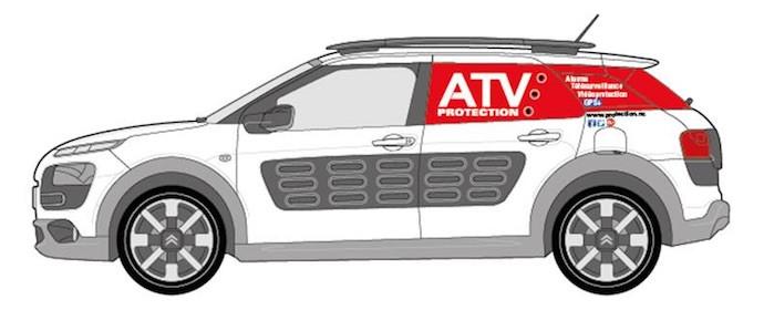 Le véhicule ATV