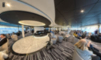 Sky Lounge  - Our private lounge for our jazz cruise.