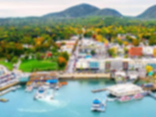 Bar Harbor - A beautiful port during our jazz cruise.