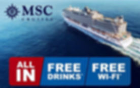 MSC Cruises All In Promotion