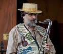 Scott Robinson - a saxophone player for our jazz cruise.