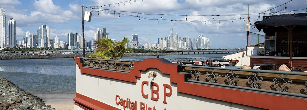 A beautiful view of Panama City during our stroll the Old Historic District.