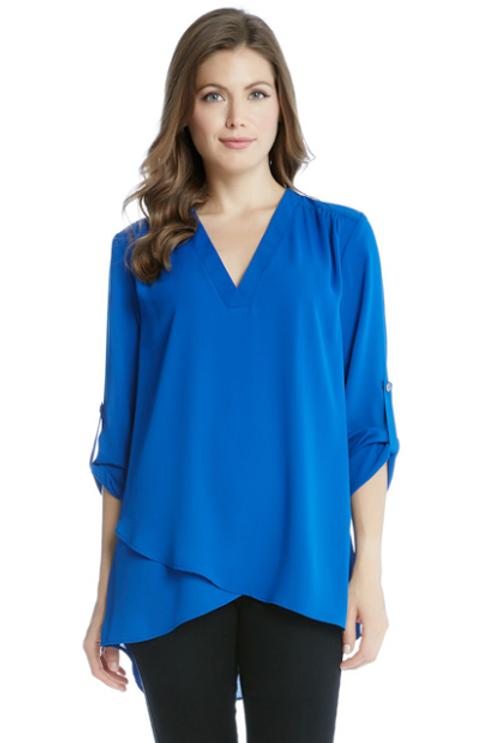 Karen Kane Deep v-neck blouse
