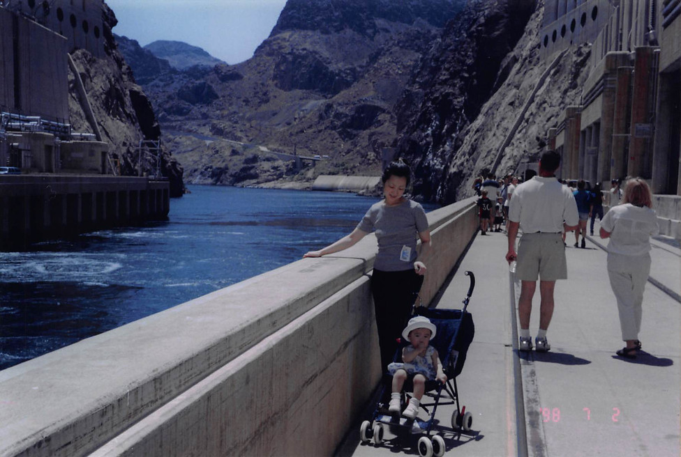 1999-July-2-at Hoover Dam