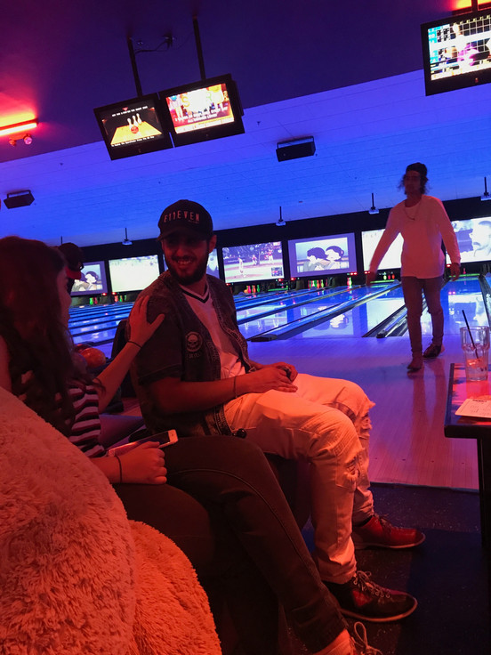 Fun with friends @ Bowling alley!