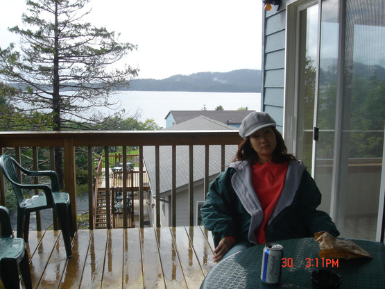 Day 1 - resting at the lodge in Sitka Alaska