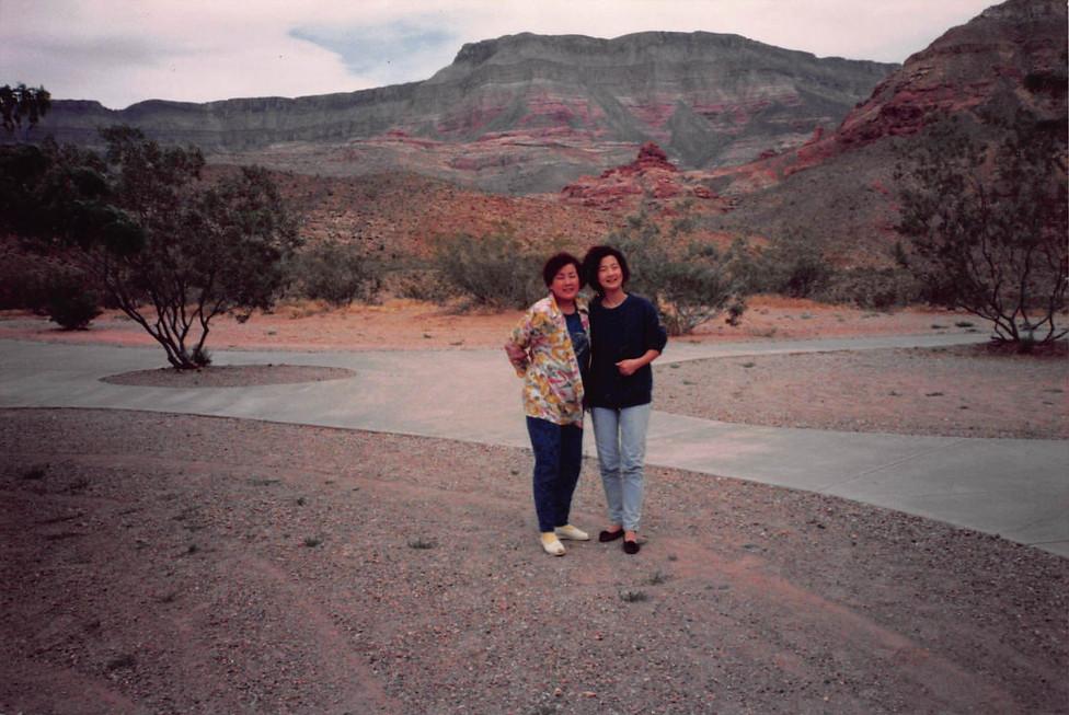 1991년 5월 엄마, 할머니와 함께 5박6일 버스관광