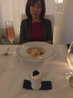 The Meal at 'Petrossian' in Beverly Hills