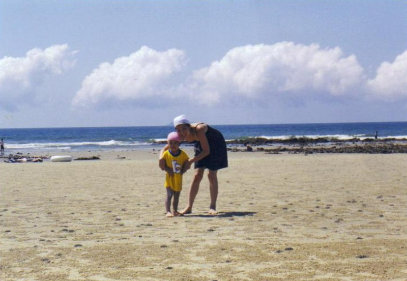 Summer Family Trip in 2001