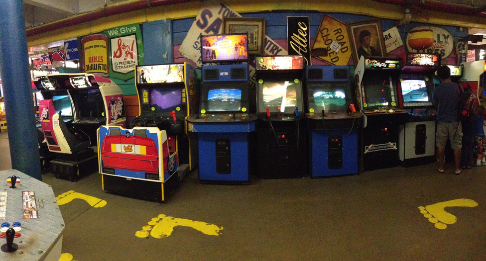 The Giant Arcade for Taylor