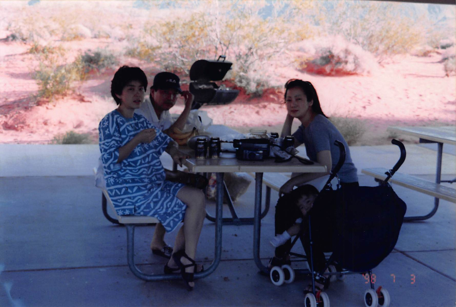 1999-July-3-BBQ near Lake Mead