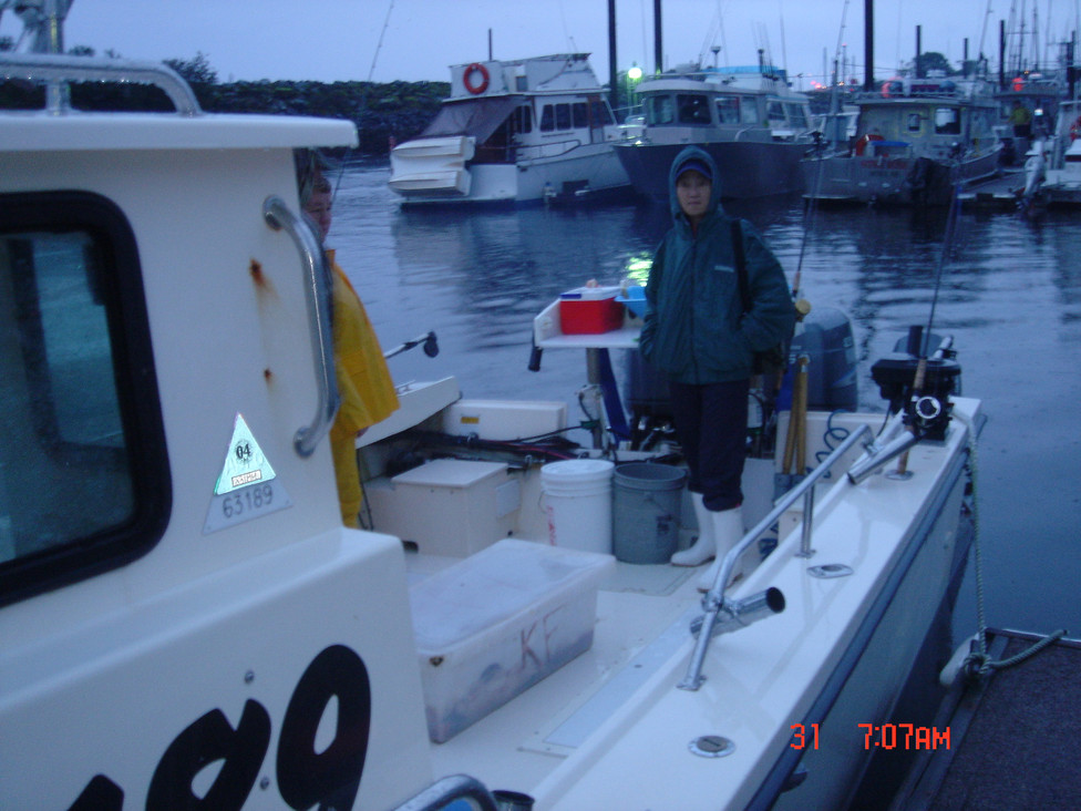 Day 2 - Fishing Tour #1 for Salmons
