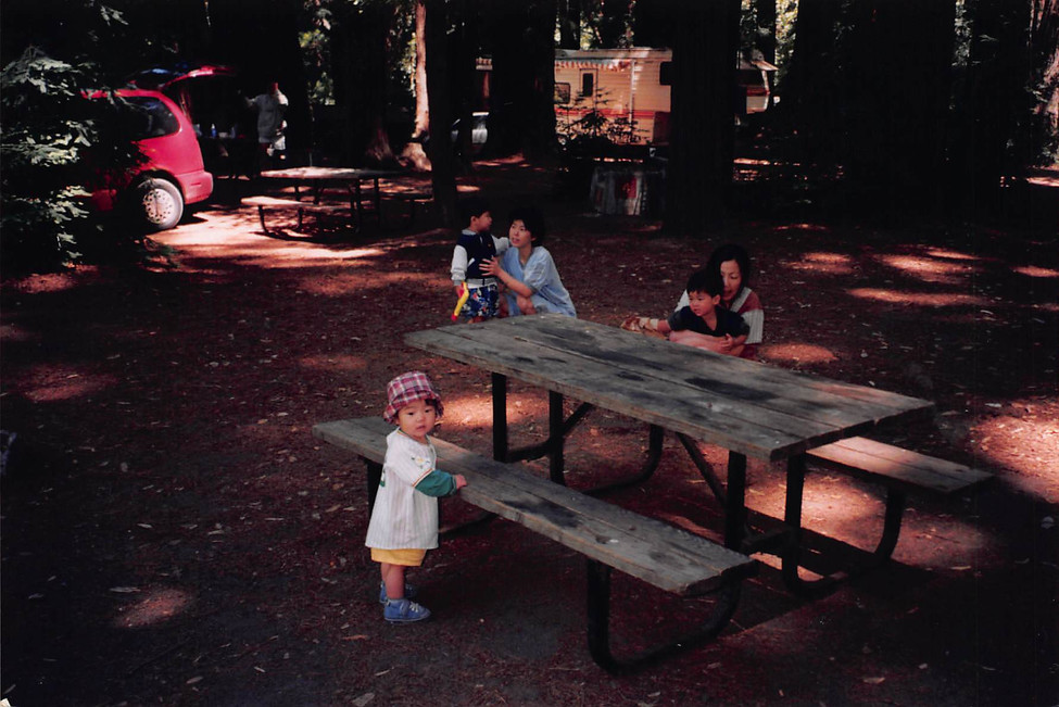 1999-Aug-Lunch at some camp site