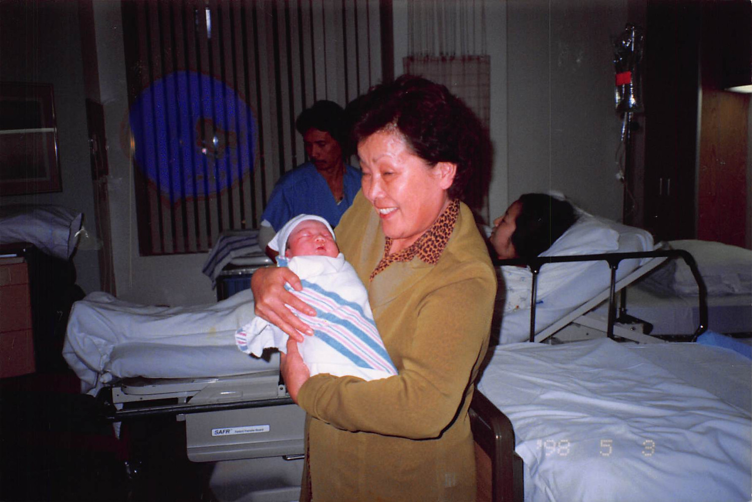 1998-May-3-Grandmom with a  joy