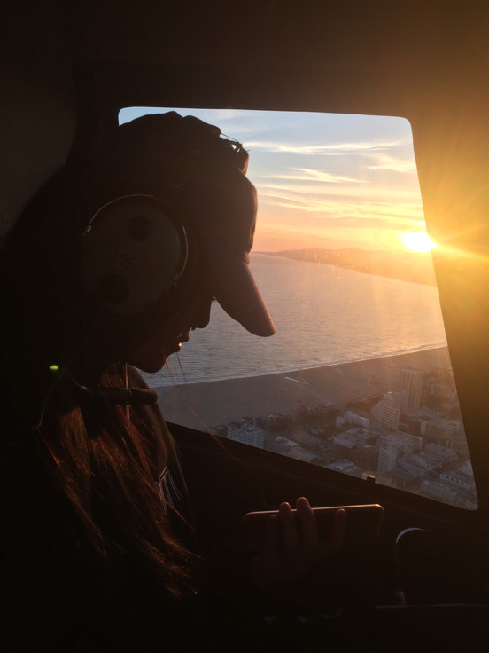 LA Helicopter Ride on Taylor's Birthday