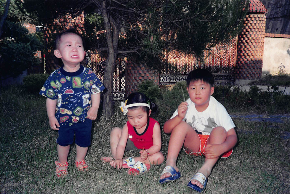 2001-Summer-Playing with Cousins