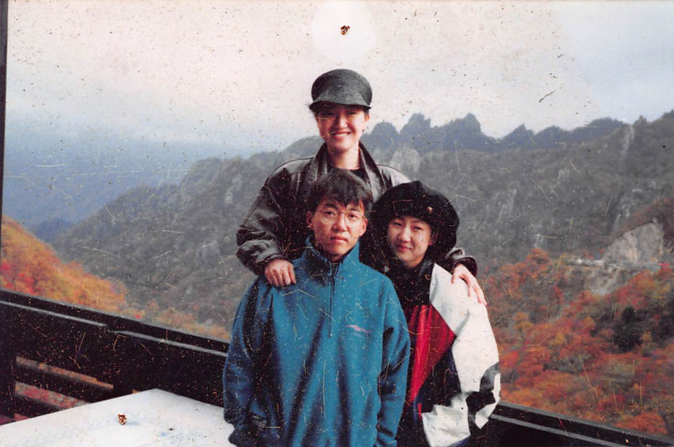 1991년 가을 설악산 한계령휴계실