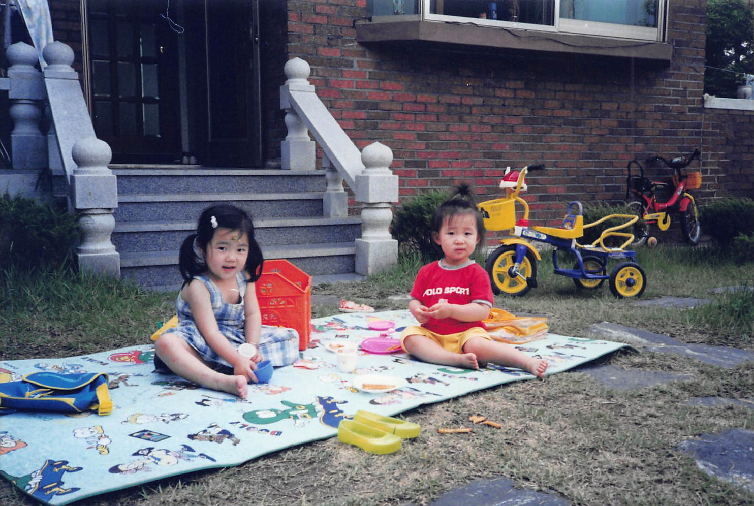 2001-Summer at Grandmom's