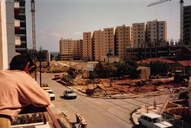 1986년 - looking out in Cyprus