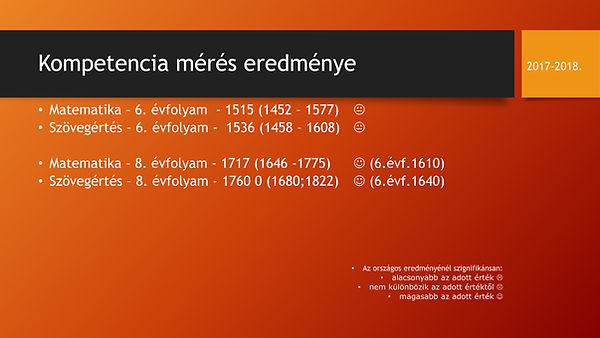 Kompetencia mérés eredménye_1718_honlap.