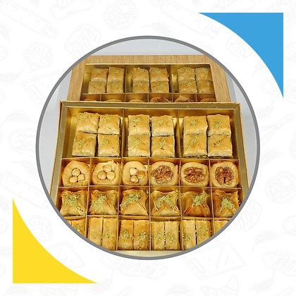 Premium Assorted baklava box of 32 pieces